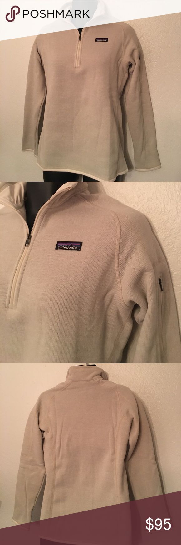 🆕NWT Patagonia Better Sweater Pullover This pullover is a fleece lined sweater pullover. Has a zipped pocket on the left arm and is a 3/4 zip front. NWT. Size L. Save on ✈️SHIPPING✈️and 🎁BUNDLE! I even give a discount on 3 or more regularly priced item bundles. I always accept reasonable offers with the offer button! 🚫❌Lowball offers please! Patagonia Jackets & Coats