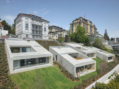 Lischer Partner - Townhouses, Luzern 2012