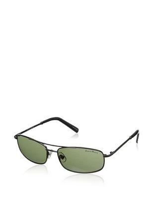 60% OFF Cole Haan Men's 744 Navigator Sunglasses (Gunmetal/Green Lens)