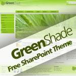 GreenShade Free SharePoint Theme