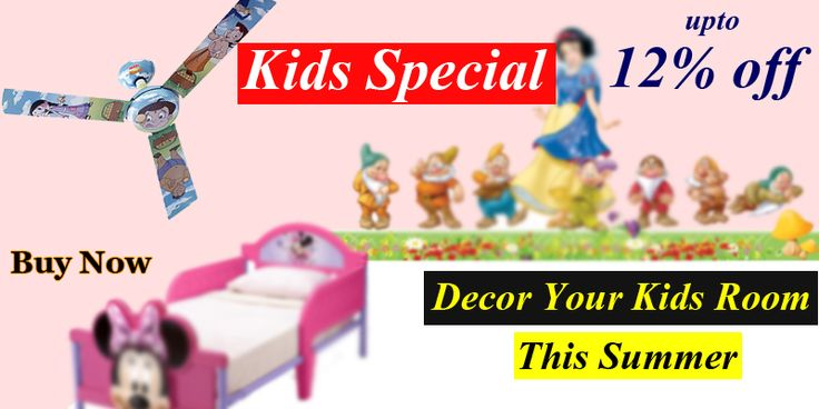 #SummerSolution Change the decoration of your Kid's Room and help her to explore unknown things to invent something in future. http://tinyurl.com/zdrqzng