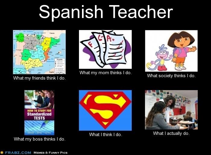 Spanish Teacher Meme Generator What I Do Travel