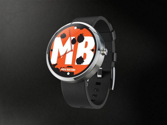 Mold Busters' first design for Motorola's Moto 360 design face-off! #Moto360 #design