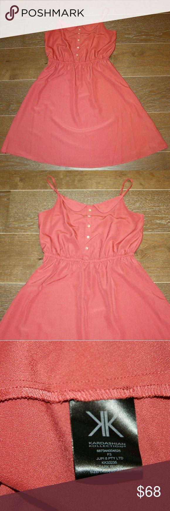 Kardashian Kollection Strappy Dress NWOT Kardashian Kollection Strappy Dress NWOT Color: Persimmon Kardashian Kollection Dresses Mini