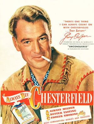 Gary Cooper And John Wayne | Study reveals secret tobacco industry deals with Hollywood