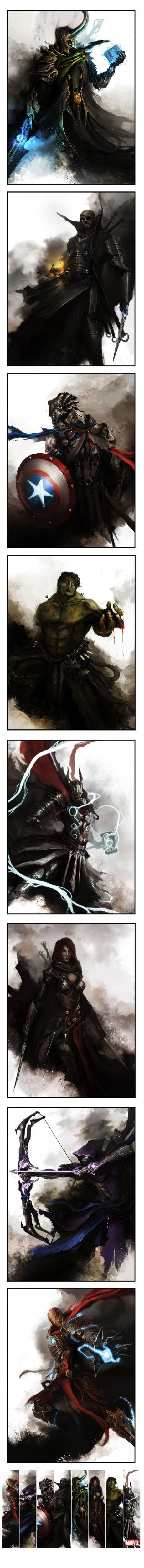 Medieval Avengers.