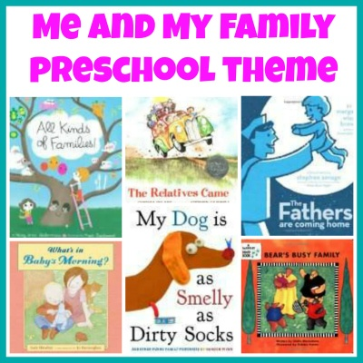 Me and My Family Theme- book list to accompany preschool theme