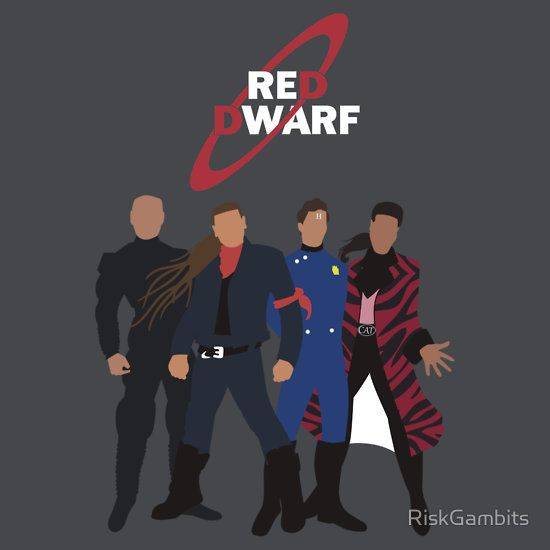 """Red Dwarf"" T-Shirts & Hoodies by RiskGambits 