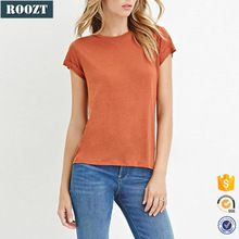Fashion Plain Women T shirt Custom Tshirts Summer Casual  Best Buy follow this link http://shopingayo.space