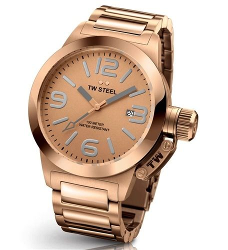 Gts 40MM quartz dial, rose gold plated case