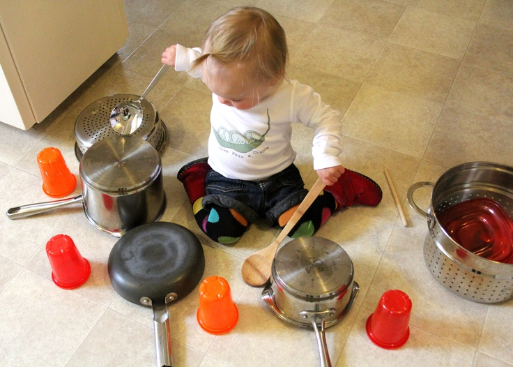 36 Bang On Pots Amp Pans With A Spoon 101 Things To Do