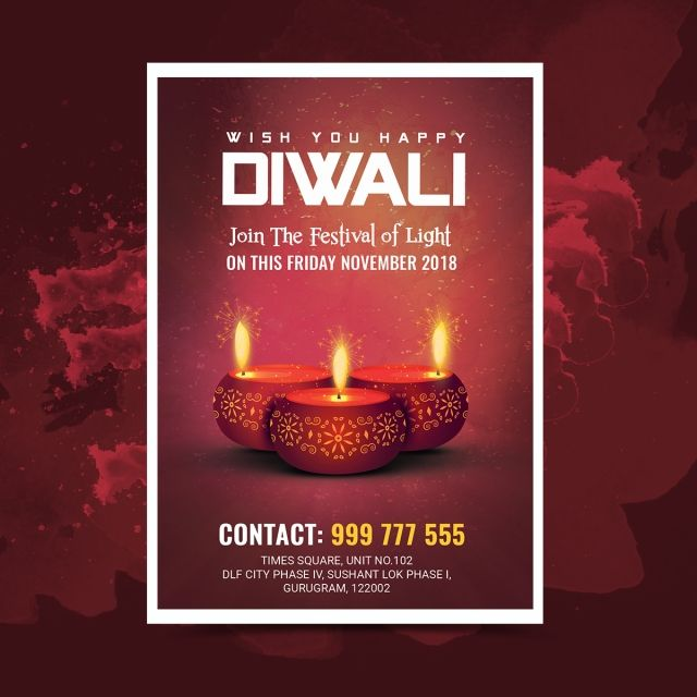 Diwali Festival Flyer Diwali Festival Festival Flyer Diwali Wishes