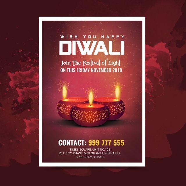Diwali Festival Flyer Diwali Festival Festival Flyer