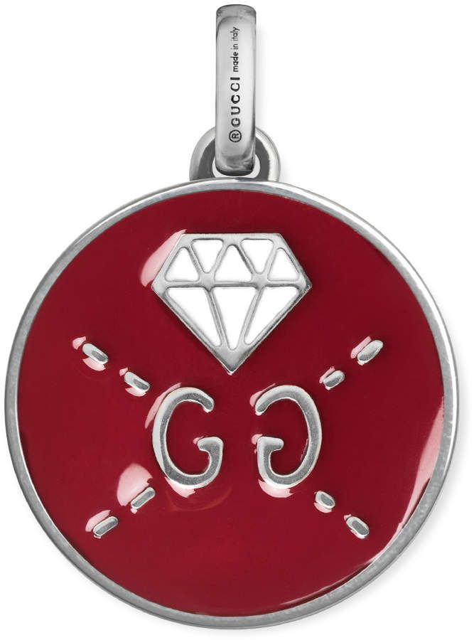 515f4dcf3 GucciGhost charm in silver | women's fashion | Jewelry, Gucci jewelry, Silver  jewelry