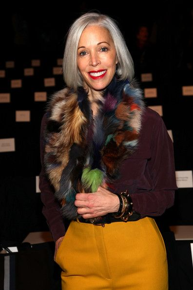 Vice President of Visual Merchandising at Bergdorf Goodman Linda Fargo attends the Carolina Herrera Fall 2012 fashion show during Mercedes-Benz Fashion Week at The Theatre at Lincoln Center on February 13, 2012 in New York City