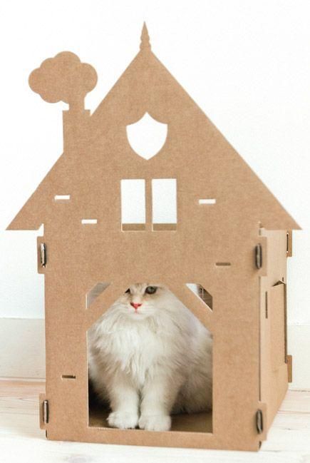 Nieuw van KEK Amsterdam: Kattenpandjes van Karton - Lazy Lodge