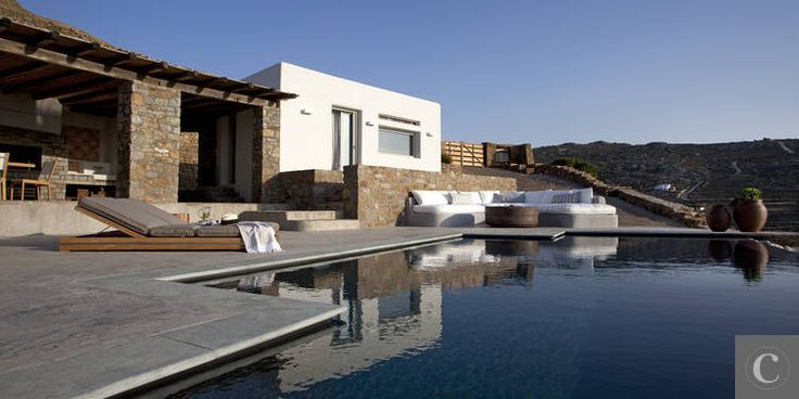 Magnificent villa on a Greek island, 6 bedrooms, 12 people