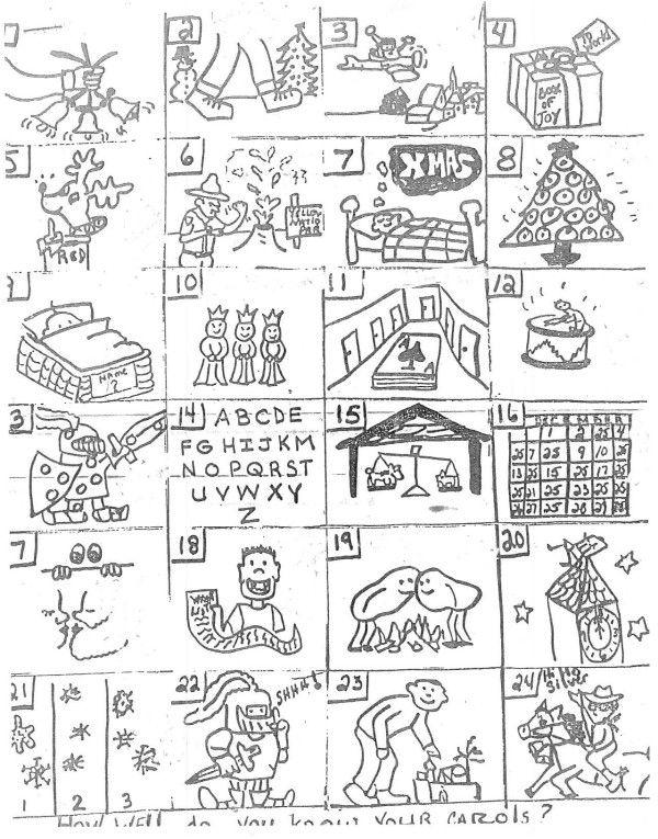 Best 20 Christmas Picture Puzzles (Christmas Rebus Puzzles