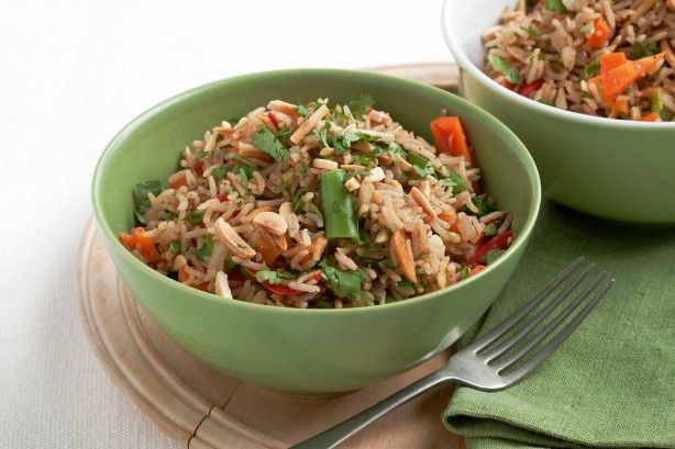 This vegetarian pilau is a quick and easy family-filling meal featuring a mere six ingredients.