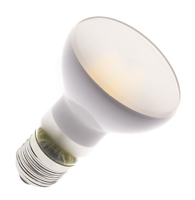 Ampoule Led E27 Dimmable Filament R63 Frost 6w Ledkia Led