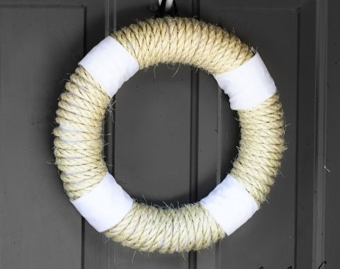 8 best images about rope ideas on pinterest crafts for Nautical craft ideas