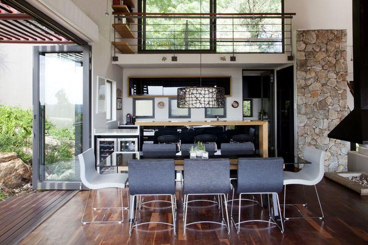 clerestorey black kitchen contemporary kitchen by Victoria de la Cour- architect
