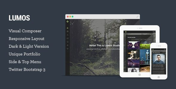 Lumos – Multipurpose Single/Multi-page WP Theme