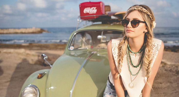 Diese DIY-Looks sind sommerlich, erinnern an die Hippie-Zeit, versprühen aber gleichzeitig einen Hauch von Glamour.