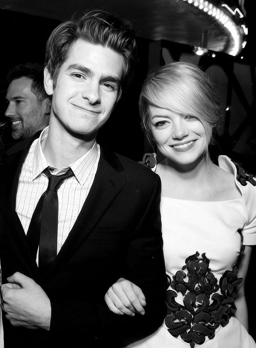 <3Emma Stone, Spiders Man, Celebrities, Amazing Spiderman, Beautiful People, Andrew Garfield, Couples, Andrewgarfield, Emma Stones