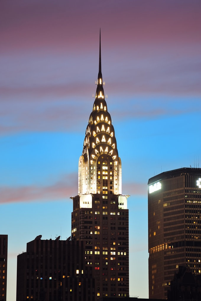 65 best iconic architecture images on pinterest new york for Iconic places in new york