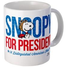 Snoopy American Hero Mug