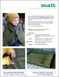 Malt Blanket by Tin Can Knits : a free pattern from the Simple Collection