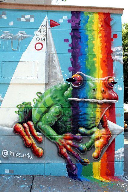 Mike Makatron  - more @ www.streetart.nl #streetart