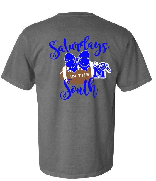 Memphis Tigers Gameday shirt - Saturdays in the South