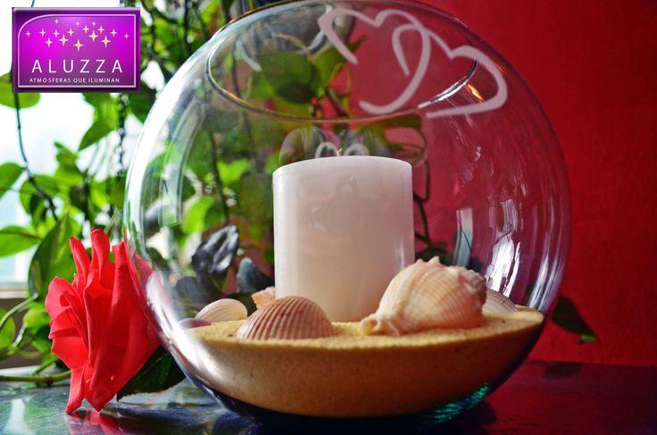 48 best decoraciones con conchas images on pinterest - Decoraciones de peceras ...