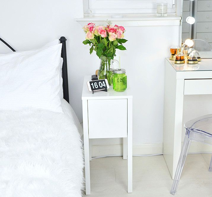 separation shoes 30476 2e5a1 What's In My Bedside Table | bedroom | Table, Home bedroom ...