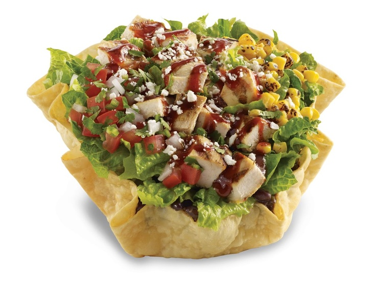 ... Tostada Salad | Yummy :) | Pinterest | Chicken Tostadas, Tostadas and