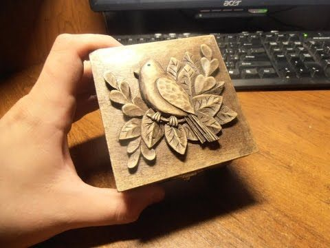Wood Carving Carved Jewelry Box Carving On Wood Art