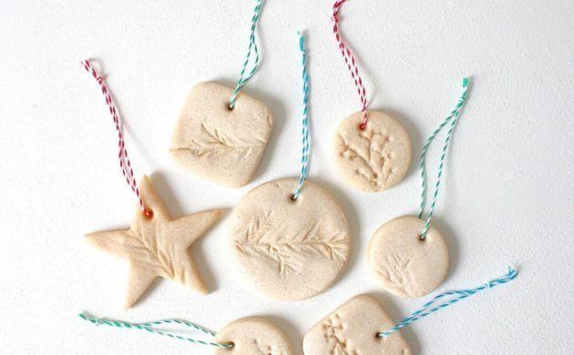 kreativ basteln schöne figuren zum aufhängen selber machen aus salzteig