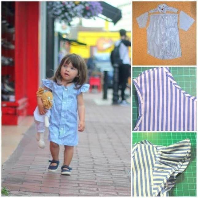 Inspiración e ideas para transformar camisas de hombre en