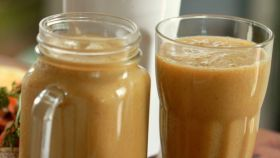 Mrkvový-mangový drink pre deti