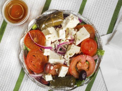 Recette Salade de pâtes à la grecque, notre recette Salade de pâtes à la grecque - aufeminin.com