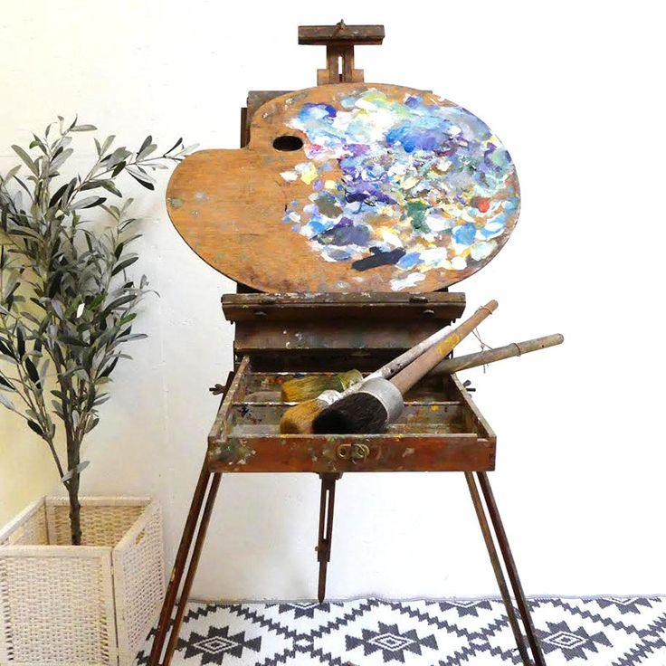 Les 25 meilleures id es concernant chevalet peinture sur pinterest chevalet de table chevalet - Chevalet de table peinture ...