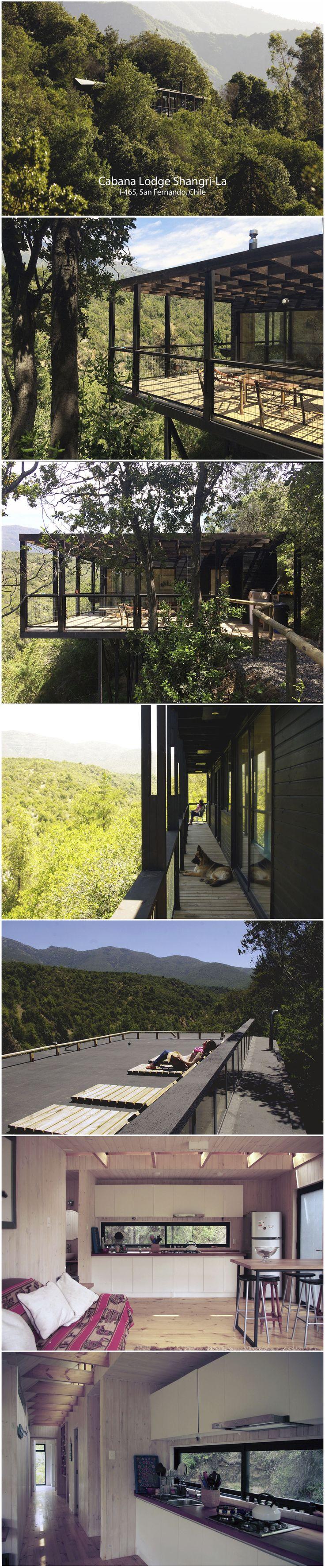Cabana Lodge Shangri-La I-465, San Fernando, Chile
