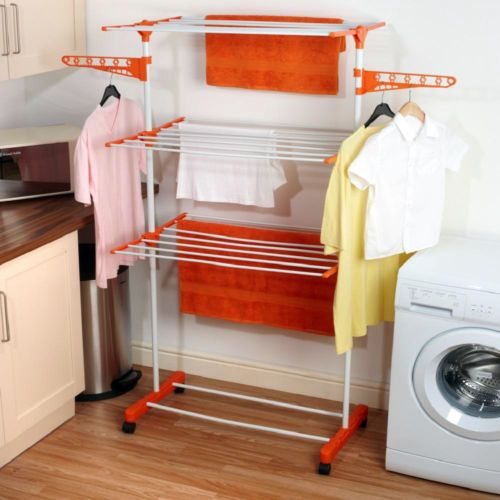 TNC 3 layer Jumbo Cloth Dryer Stand with wheels  Shop Here >> www.couponndeal.com/coupon/cloth-dryer-ironing-board-combo
