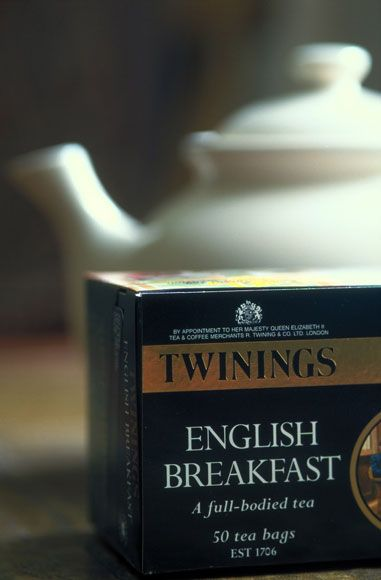 English Breakfast - my second most favourite tea!