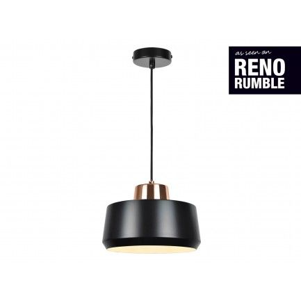 No idea where but this one is hot. $171 Monlue Tread Pendant in Copper/Black | Pendant Lights | Lighting