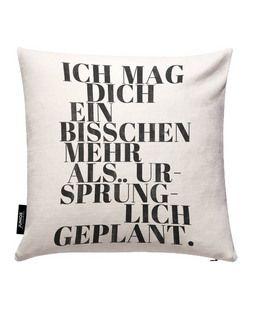 Geplant - typealive - Kissenbezug