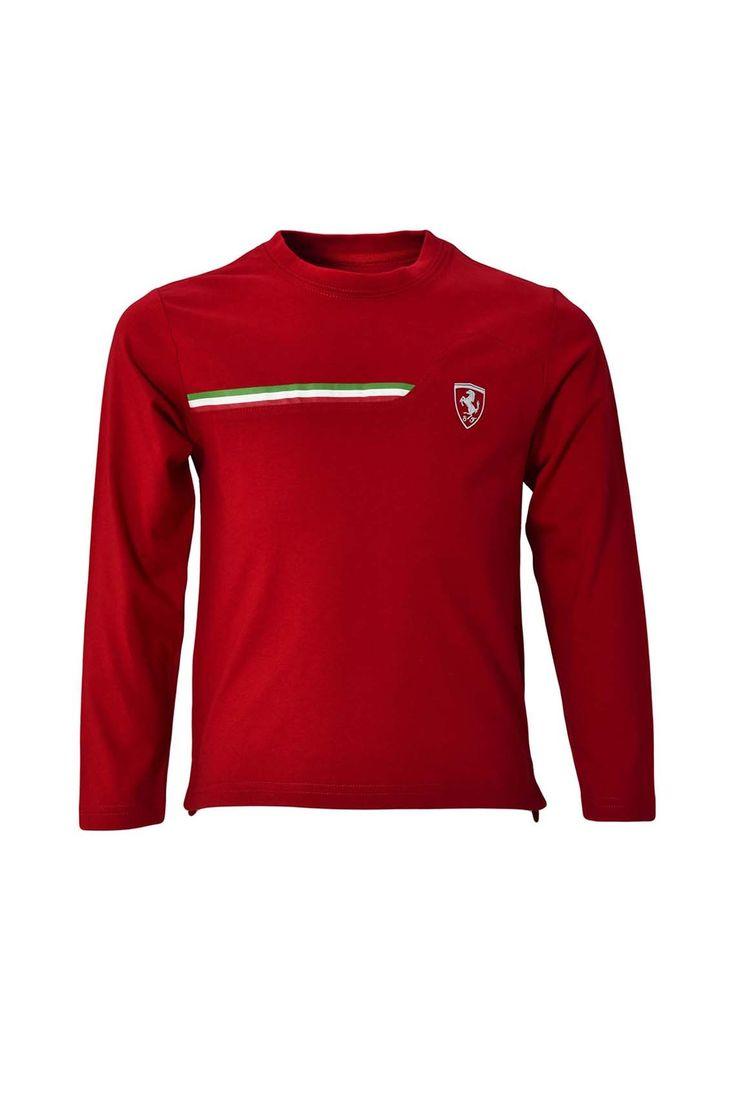 Однотонная футболка с длинным рукавом, фирменный принт http://oneclub.ua/futbolka-146435.html#product_option4