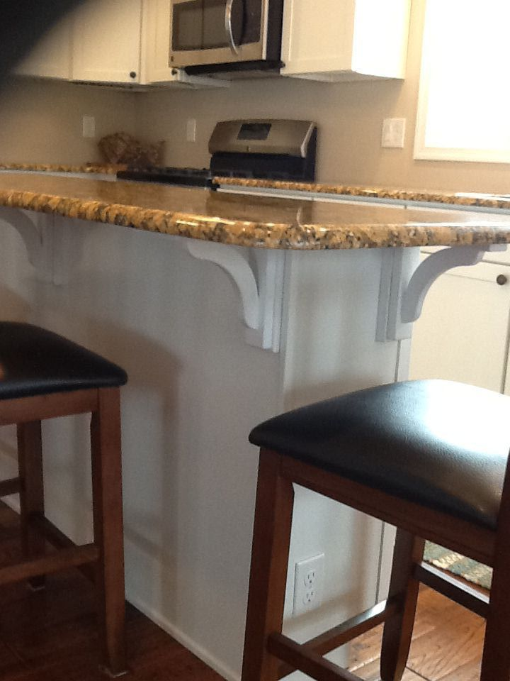 Countertop Corbels : 1000+ images about Customer Gallery-Countertop Corbels on Pinterest ...